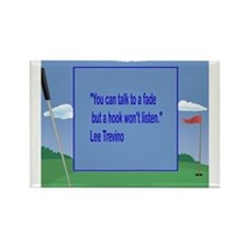 Golf Quotes Trevino Rectangle Magnet