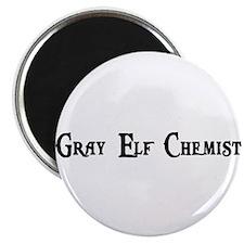 Gray Elf Chemist Magnet