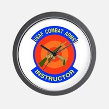 Arms Instructor Wall Clock