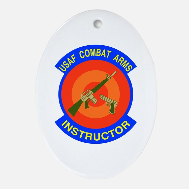 Arms Instructor Oval Ornament