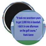 Golf Quotes Aaron Magnet