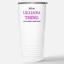 It's a Lilliana thi Travel Mug