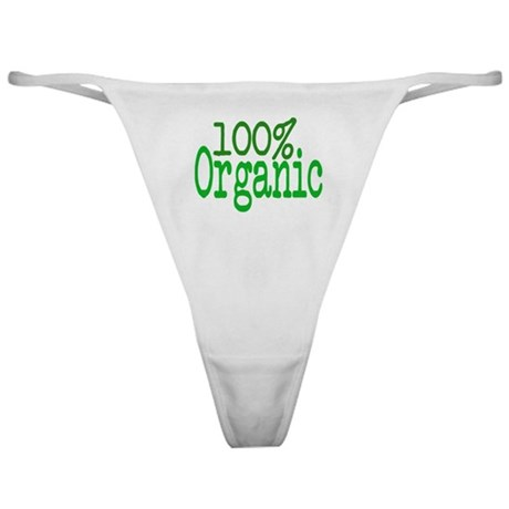 100% Organic Classic Thong