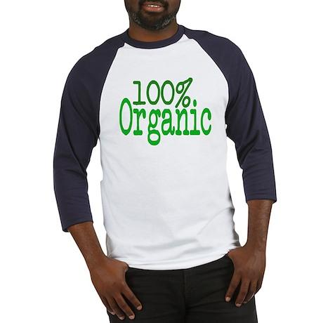100% Organic Baseball Jersey