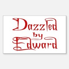 Dazzled by Edward Rectangle Decal