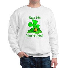 Kiss Me, You're Irish Sweatshirt