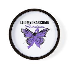 Leiomyosarcoma Survivor Wall Clock