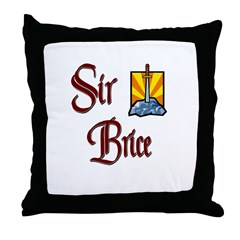 Sir Brice Throw Pillow