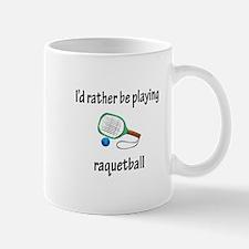 Playing Raquetball Mug