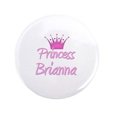"Princess Brianna 3.5"" Button"