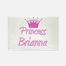 Princess Brianna Rectangle Magnet