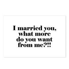 I'm Married Postcards (Package of 8)