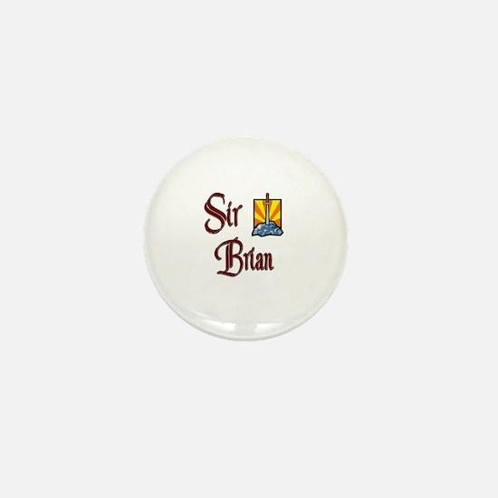 Sir Brian Mini Button