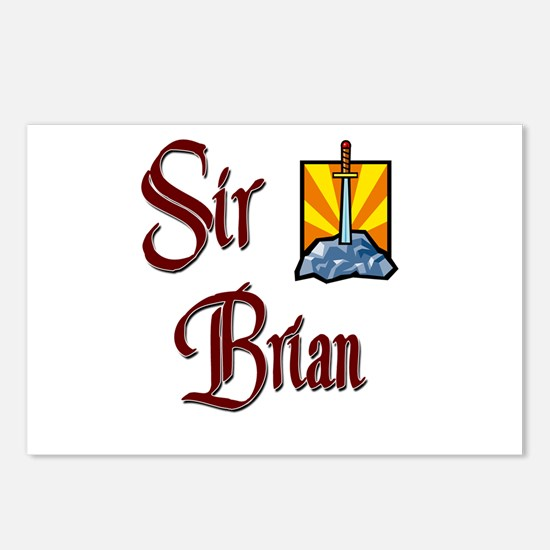 Sir Brian Postcards (Package of 8)