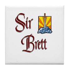 Sir Brett Tile Coaster