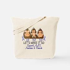 See Speak Hear No ALS 2 Tote Bag