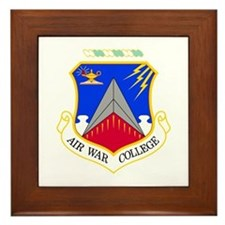 Air War College Framed Tile