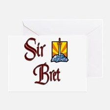 Sir Bret Greeting Card