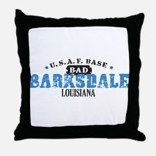 Barksdale Air Force Base Throw Pillow