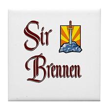 Sir Brennen Tile Coaster