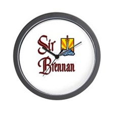 Sir Brennan Wall Clock