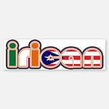 iRican Bumper Bumper Bumper Sticker