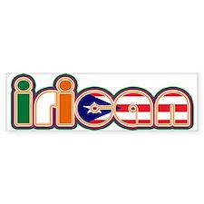 iRican Bumper Bumper Sticker