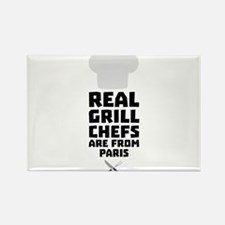 Real Grill Chefs are from Paris Cgyx4 Magnets
