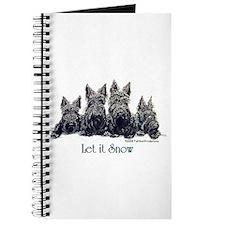 Scottish Terrier Winter Journal