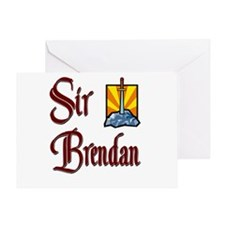Sir Brendan Greeting Card