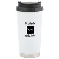 Rather Be Scuba Diving Travel Mug