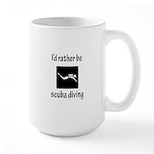 Rather Be Scuba Diving Mug