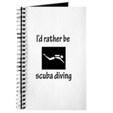 Rather Be Scuba Diving Journal