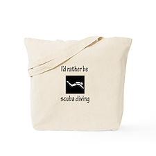 Rather Be Scuba Diving Tote Bag