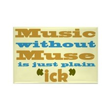Music & Muse Rectangle Magnet