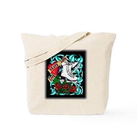 Tattoo Skater Tote Bag
