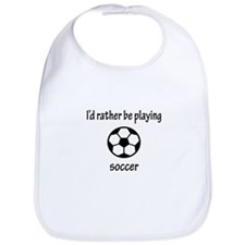 Playing Soccer Bib