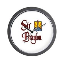 Sir Braylon Wall Clock