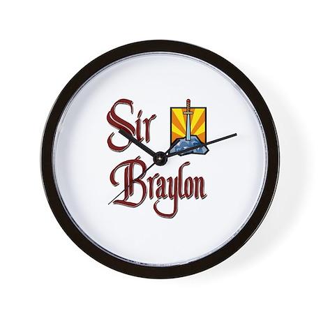 Sir Braylon Wall Clock