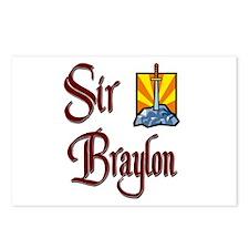 Sir Braylon Postcards (Package of 8)
