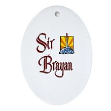 Sir Brayan Oval Ornament