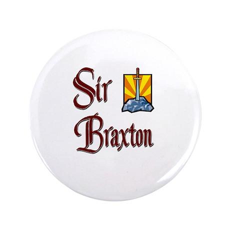 """Sir Braxton 3.5"""" Button"""