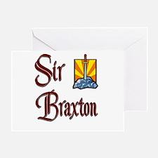 Sir Braxton Greeting Card