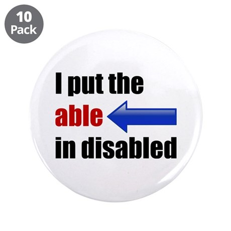 "Able 3.5"" Button (10 pack)"