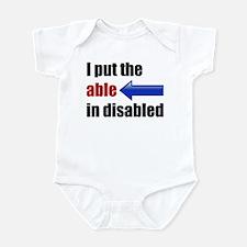 Able Infant Bodysuit