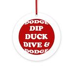 DODGE Ornament (Round)