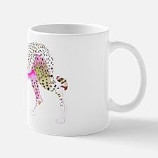Cheetah Pink Lime Small Small Mug