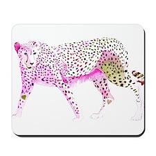 Cheetah Pink Lime Mousepad