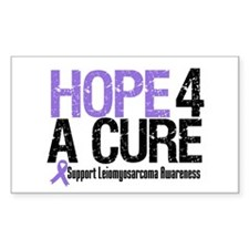 LeiomyosarcomaHopeCure Rectangle Decal