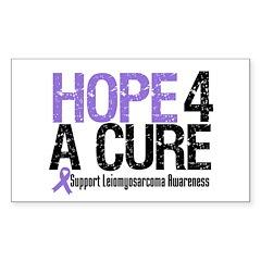 LeiomyosarcomaHopeCure Rectangle Sticker 50 pk)